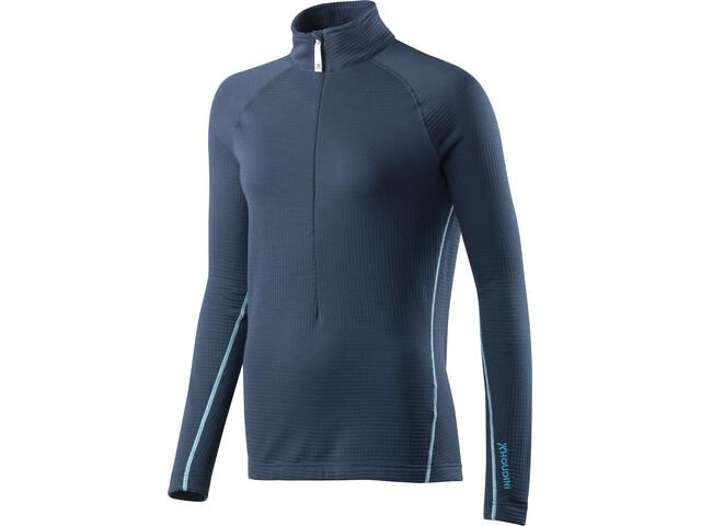 Houdini Wooler Half Zip Sweater Dam blue illu/blue light